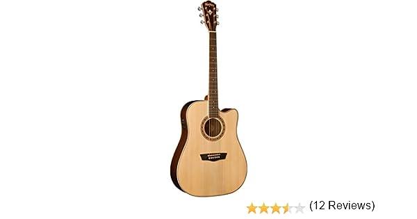 Washburn WD20SCE - Guitarra electroacústica (tipo dreadnought ...