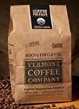 Vermont Coffee Company 100% Organic Whole Bean Dark Roast Coffee 8 Oz. (2 Pack)
