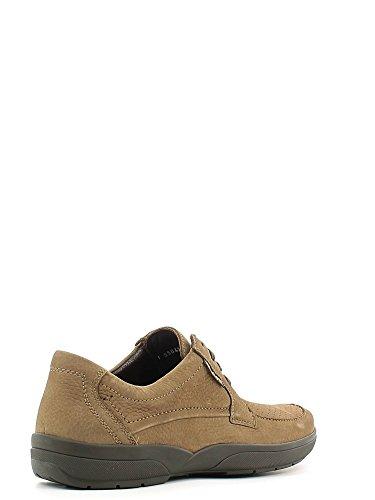 Mephisto AGAZIO PERF SPORTBUCK 1965 DARK TAUPE P5106761 - Zapatos de cordones de cuero para hombre Marron - Hellbraun