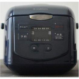 【まとめ 3セット】 エスキュービズム 4合炊きマイコン式炊飯器 ネイビー SCR-H40N   B07KNS7FYM