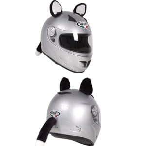 Awesome Ears Helmet Gear - Cat Ears w/Tail
