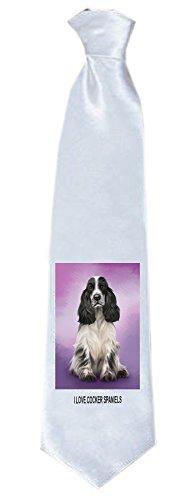 Cocker Spaniel Dog Neck Tie TIE48121