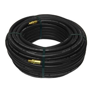 Goodyear Rubber Air Hose - 3/8in. x 100ft., Black