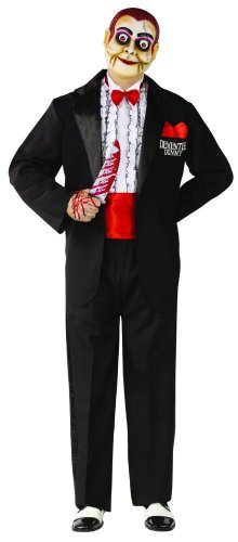 Demented Dummy Ventriloquist Adult Costume - Standard