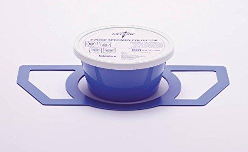 Medline DYND36500 2-Piece Specimen Collector Pans, 40 oz (Pack of 100)