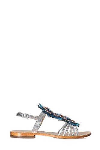 EMANUELLE VEE Sandals - 310332 - Silver Argento jXEszi
