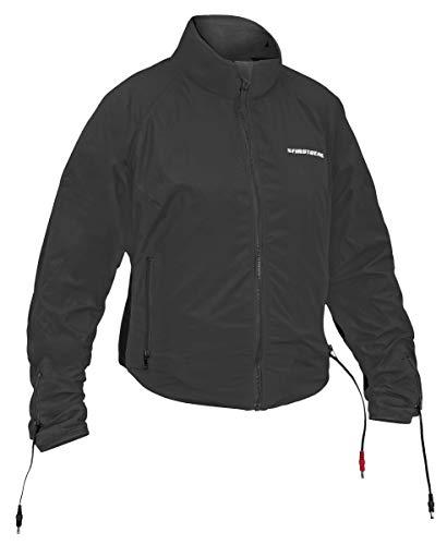 Firstgear Heated 90-Watt Womens Jacket Liner (Black, X-Large)
