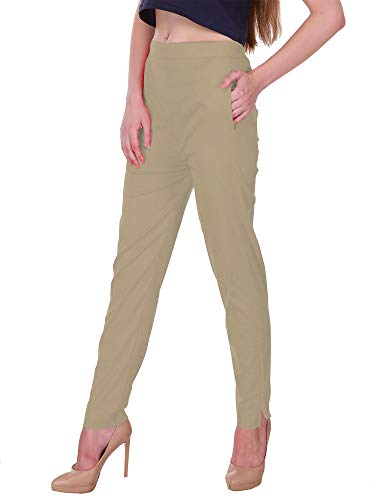 Saundarya Women's Slim Fit Casual Trousers