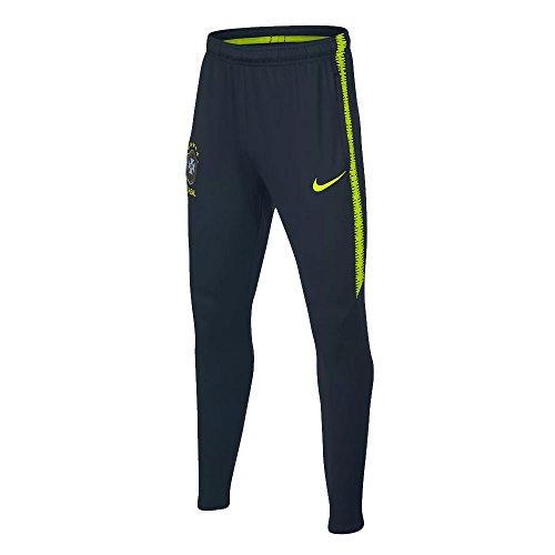 配列雑多な光沢2018-2019 Brazil Nike Squad Training Pants (Armory Navy)