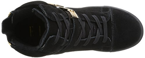 Top Bastille Black Noir Hi Women's Elle tOwaxqTx