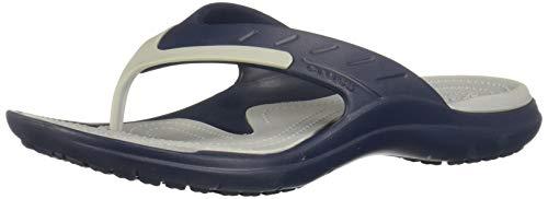 - Crocs MODI Sport Flip Sandal, Navy/Light Grey, 5 US Men / 7 US Women