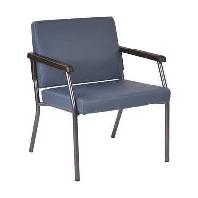 Bariatric Big & Tall Chair Blue/400 lbs/26'' by Office Star