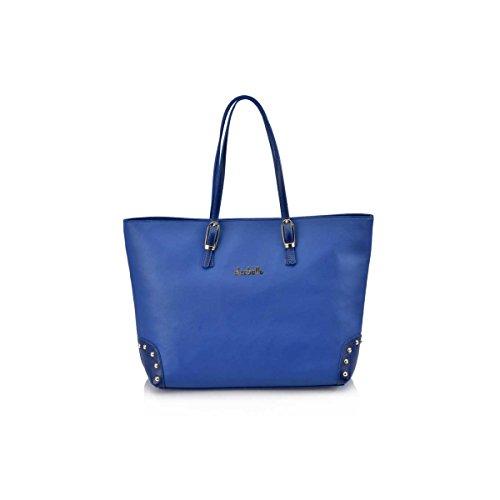 Victorio & Lucchino Bolso de Mujer Shopping con Hebillas El Caballo 1021 Outlet Azulon