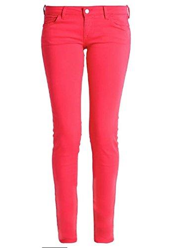 Guess Tulip Curve Puree Mujer Corallo Jeans rCxrqSTw6