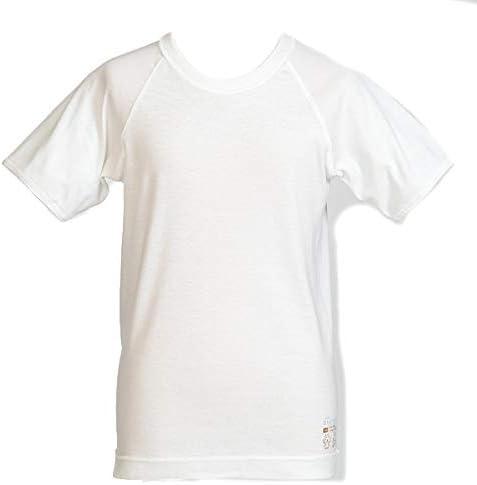 【2枚セット】atones 男児用半袖丸首シャツ atones-b01-s