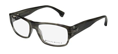 Republica Geneva Mens/Womens Designer Full-rim Eyeglasses/Eyewear (54-18-143, - Frames Republica