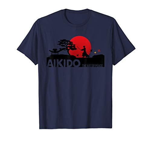 (Cool Aikido Japanese Martial Art  from Japan Contact Sport T-Shirt)
