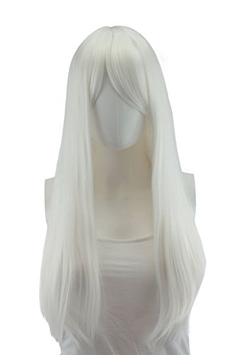 Epic Cosplay Nyx Classic White Long Straight Wig 28 Inches (11CW) ()