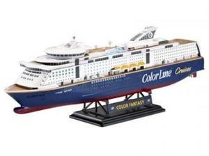 RV Revell Model Set MS Color Fantasy Cruise Ship - Model cruise ship kits