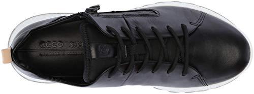 1001 St Black Negro Mujer 1 para Zapatillas Ecco w0SFngOqO