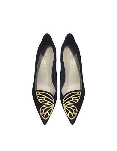 Sophia Altos Negro Gamuza Sar18016 Webster Mujer Zapatos wxRUFxTBq