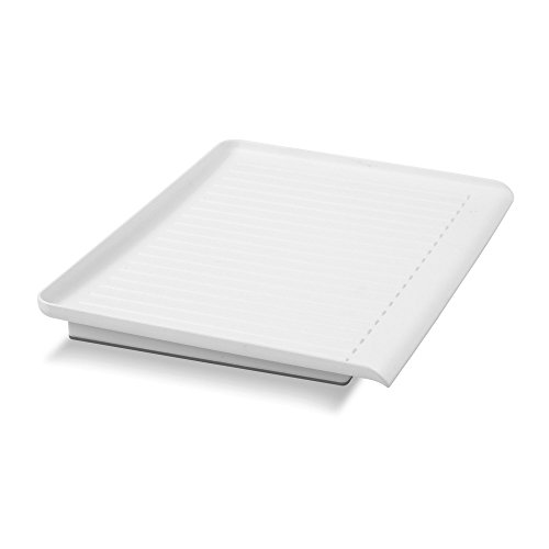"madesmart Elevated Drain Board - White | SINKWARE COLLECTION | 15.63"" x 11.25"" 