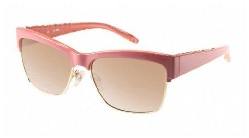 Amazon.com: Guess GU 7164 Retro de la mujer rosa y dorado ...
