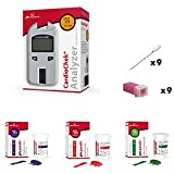 Cardio Chek Starter Cholesterol Analyzer kit with cholesterol test strips by PTS Panels