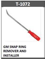 Trans-Tool T1072 SNAP RING REMOVER AND INSTALLER
