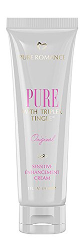 Pure Romance Pure Original Sensitive Enhancement Cream for Women with Triplex Tingle | 30mL