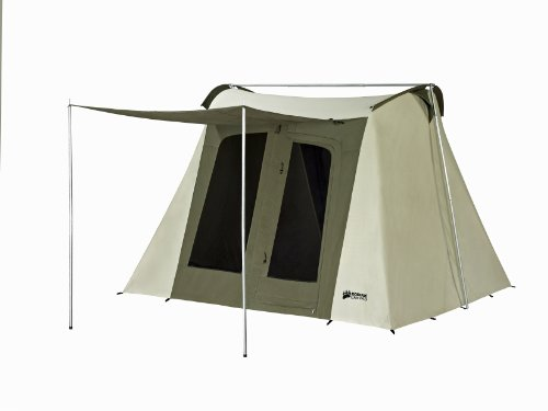 Kodiak Canvas Flex-Bow 6-Person Canvas Tent, Deluxe by Kodiak Canvas