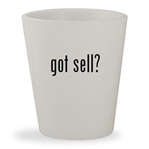 got sell? - White Ceramic 1.5oz Shot - Cards Gift Online Sell Australia