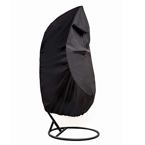 Outdoor Patio Hanging Chair Cover, Heavy Duty Egg Swing Chair Covers Dust Cover, Outdoor Garden Waterproof Protector YZZ13