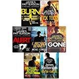 James Patterson Michael Bennett Series Collection 7 Books Set (Run For Your Life, Worst Case, Tick Tock, I Michael Bennett, Gone, Burn, Alert)