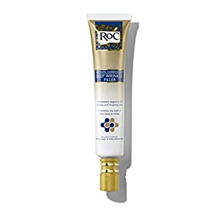 RoC Retinol Correxion Deep Wrinkle Facial Filler with Hyaluronic Acid & Retinol, 1 Ounce