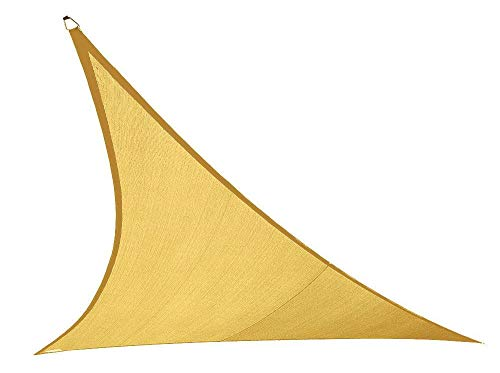 Coolaroo 473884 Sahara Coolhaven Triangle Shade sail, 18' Large