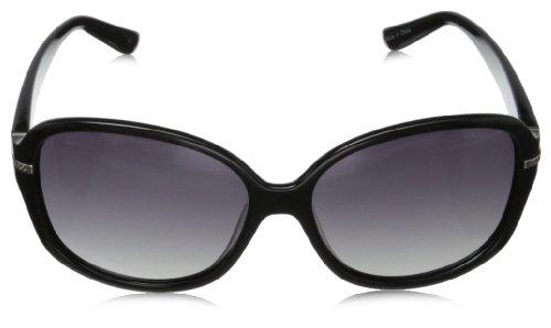 Grey P8419 Lunette Black de soleil Polaroid Femme Rectangulaire Noir 6vaPnPq1