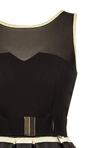 Rinascimento Rinascimento Vestido Para Mujer Negro Vestido w0w7qrg