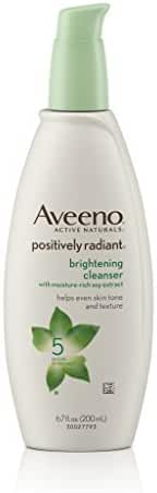 Aveeno Positively Radiant Brightening Cleanser For Face, 6.7 Fl. Oz