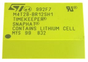 STMICROELECTRONICS M4T28-BR12SH1 IC, BATTERY/CRYSTAL SNAPHAT, SNAPHAT-28 (10 pieces)