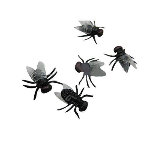 Party Diy Decorations - Halloween Decorations And Props 20 Pc Plastic Flys Joking Toys Realistic Mascaras De Latex Realista - Latex Face Scary Mask Party Decor Eyelash Plastic Masque Mascara H -