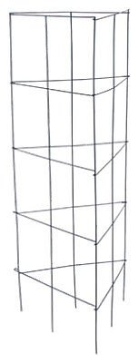 (12) Panacea 89310 47'' x 18'' 3 panel Tomato Tower Folding Plant Support Cages