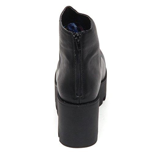 Tronchetto 1 Donna Nero Puffy D8882 Lipstik Scarpe Boot Shoe Woman Ecopelle c5qIRT