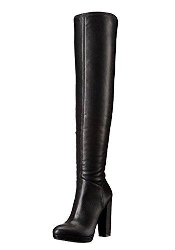 Jessica Stretch Heels (Jessica Simpson Women's Grandie Winter Boot, Black, 7.5 M US)
