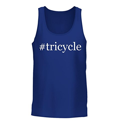 #tricycle - A Nice Hashtag Men's Tank Top, Blue, Large