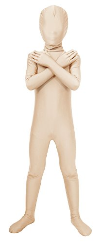 Sheface Kids Spandex Full Bodysuit Fancy Dress Costume (Large, -
