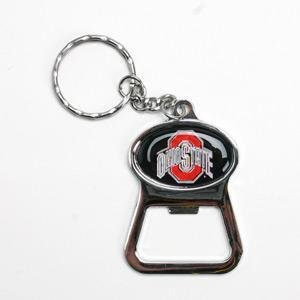 ohio state metal key chain and bottle opener w dom sports related key chains. Black Bedroom Furniture Sets. Home Design Ideas