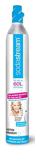SodaStream ReservePack- 1 x 1 CO2-Zylinder für 60L und  1 x 1L PET-Flasche)