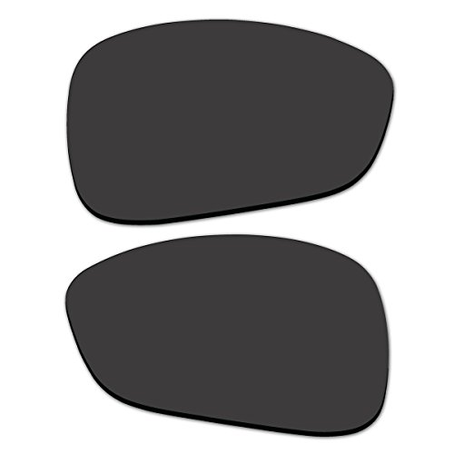 Replacement Black Polarized Lenses for Oakley Montefrio (Square O, Stretchline) - Sunglasses Montefrio