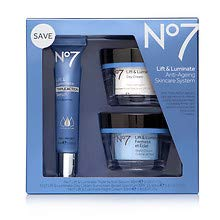 No7 Lift and Luminate Triple Action Skincare System Kit1ea 1 pack - Lift Anti Ageing System
